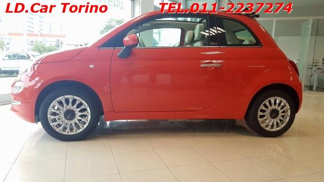 FIAT 500C 1.2 Lounge dualogic *1° TAGLIANDO OMAGGIO* Immagine 4