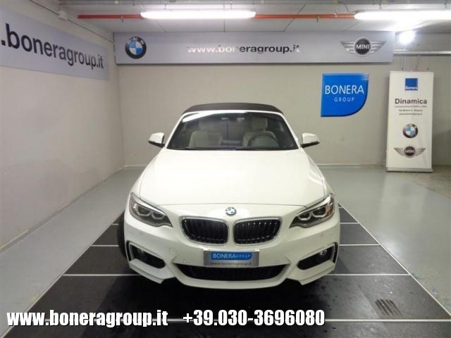 BMW 218 d Cabrio Msport Immagine 1