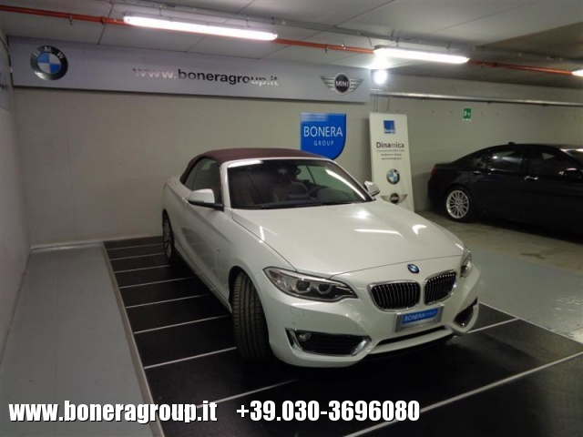 BMW 218 d Cabrio Luxury Immagine 2