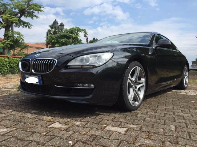 BMW 640 i Coupé Futura Immagine 0