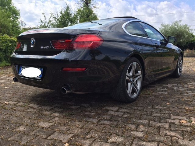 BMW 640 i Coupé Futura Immagine 4