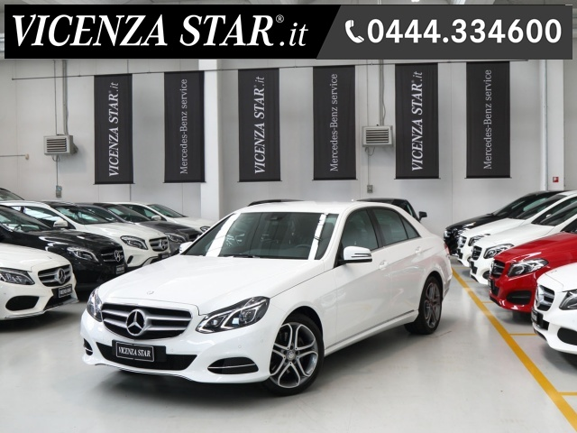 MERCEDES-BENZ E 200 BlueTEC AUTOMATIC SPORT Immagine 0