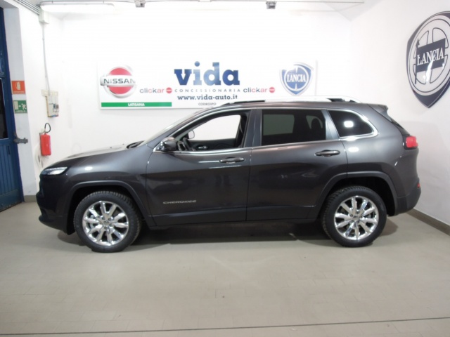 JEEP Cherokee 2.0 Mjt II Limited*TETTO APRIBILE PANORAMICO* Immagine 1