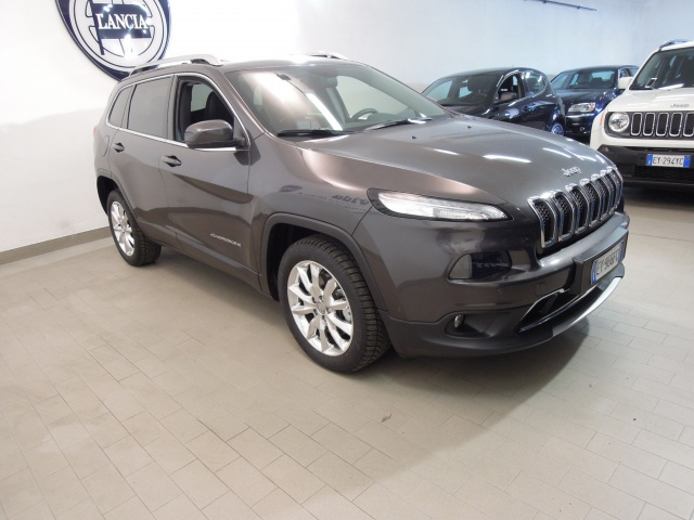 JEEP Cherokee 2.0 Mjt II Limited*TETTO APRIBILE PANORAMICO* Immagine 2