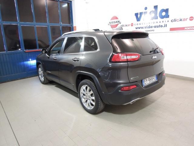 JEEP Cherokee 2.0 Mjt II Limited*TETTO APRIBILE PANORAMICO* Immagine 3