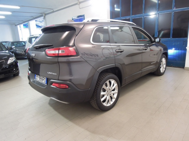 JEEP Cherokee 2.0 Mjt II Limited*TETTO APRIBILE PANORAMICO* Immagine 4