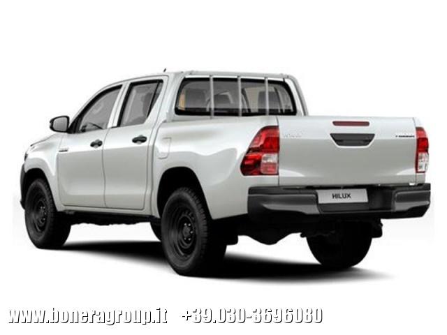 TOYOTA Hilux 2.4 D-4D 4WD 4 porte Double Cab Comfort Immagine 2