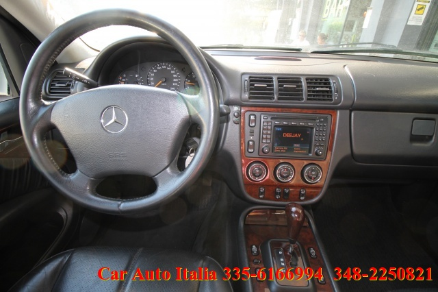 MERCEDES-BENZ ML 400 turbodiesel CDI TETTO PELLE XENON VETRI SCURI FULL Immagine 3