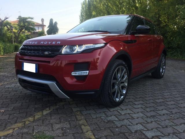 LAND ROVER Range Rover Evoque Rosso metallizzato