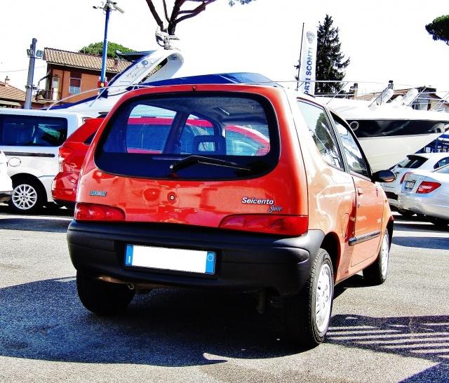 FIAT Seicento 1.1i cat Suite (TETTUCCIO PANORAMA) Immagine 3