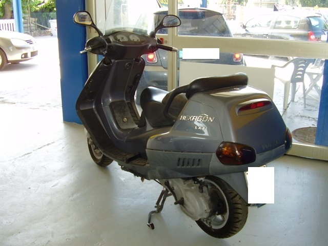 OTHERS-ANDERE OTHERS-ANDERE SCOOTER PIAGGIO HEXAGON LXT CC.180 Immagine 3