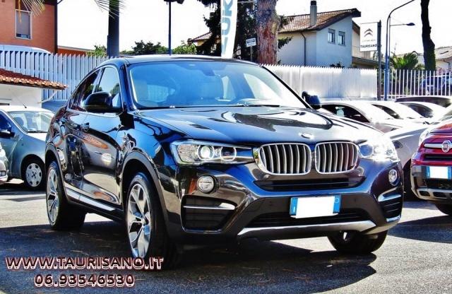 BMW X4 xDrive30dA 258CV xLine AUTOMATICO NAVIGATORE EURO6 Immagine 0