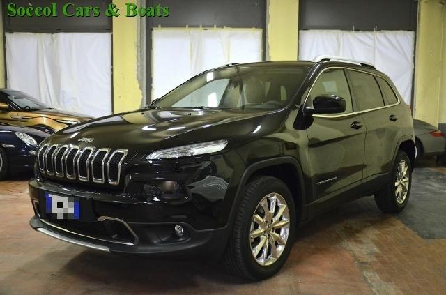 JEEP Cherokee 2.0 Mjt II 170CV 4WD Active Drive II Limited*UNICO Immagine 0