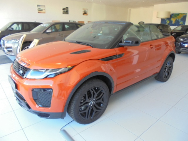 LAND ROVER Range Rover Evoque 2.0TD4 HSE Dynamic Convertibile Immagine 0