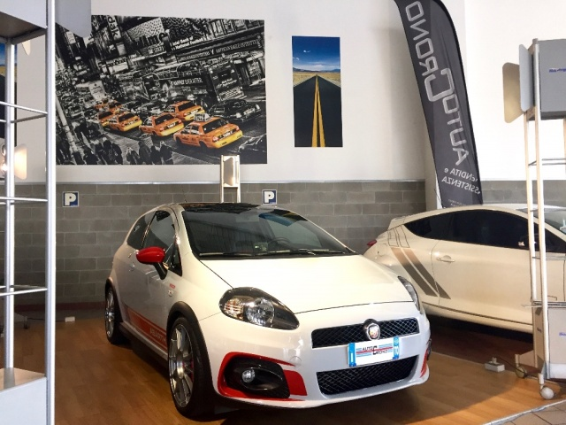 ABARTH Grande Punto SUPERSPORT - SABELT - SKY DOME 180CV Immagine 0
