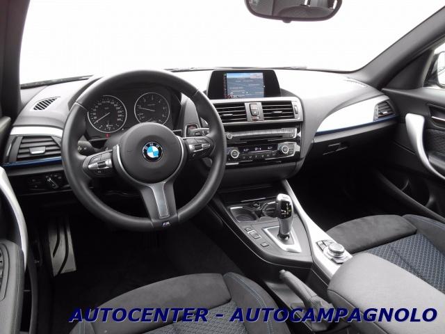 """BMW 118 d 5p. Msport *NAVI-LED-CERCHI DA 18""""* Immagine 4"""