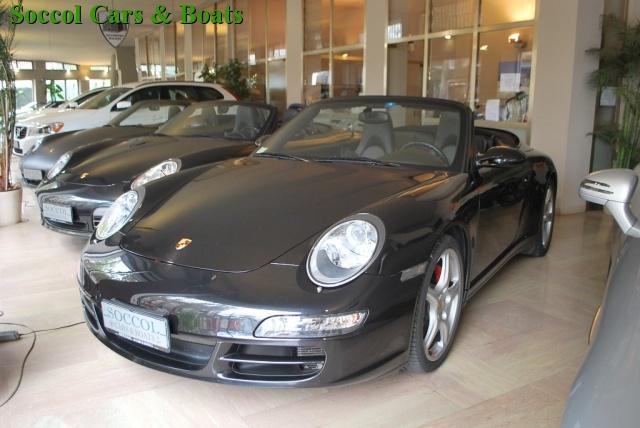 "PORSCHE 997 Carrera 4S Cabriolet*Sport Chrono*19""*PCM*NAVI*XEN Immagine 0"