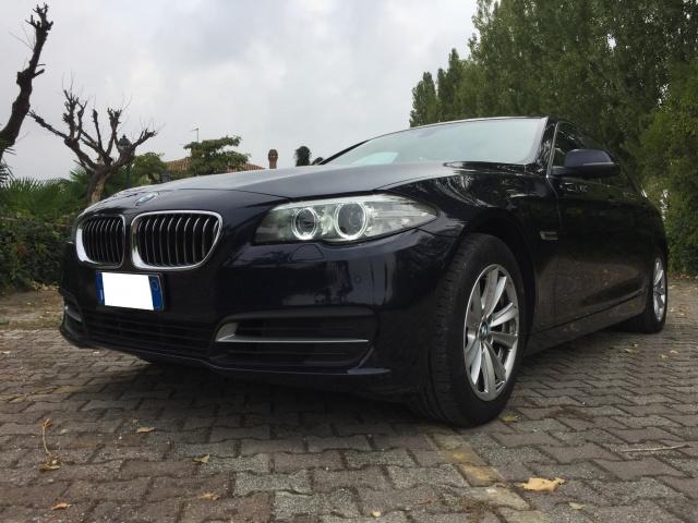 BMW 525 Blu metallizzato