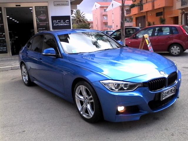 BMW 318 d M sport BLU ESTORIL IVA ESPOSTA Immagine 2