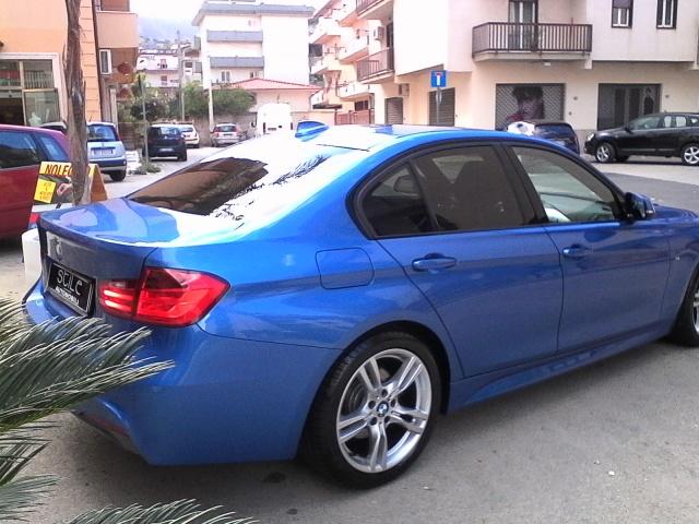 BMW 318 d M sport BLU ESTORIL IVA ESPOSTA Immagine 4