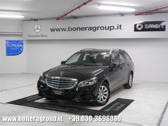 MERCEDES-BENZ E 200 BlueTEC S.W. Automatic Business Immagine 0