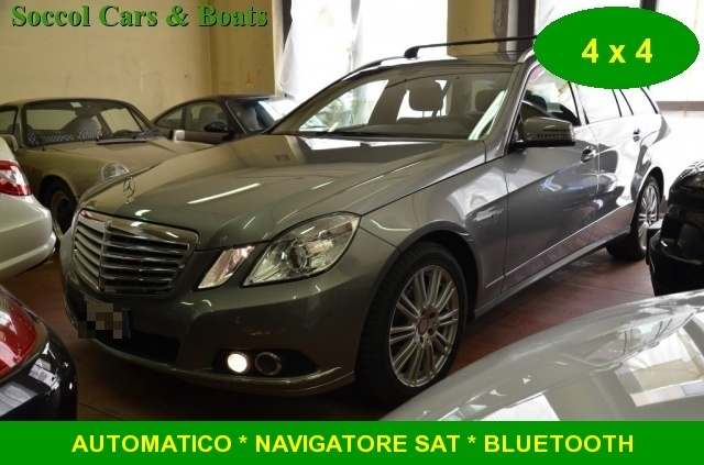MERCEDES-BENZ E 250 CDI S.W. BlueEFF. 4Matic Elegance*AMG*NAVI*IVA ESP Immagine 0