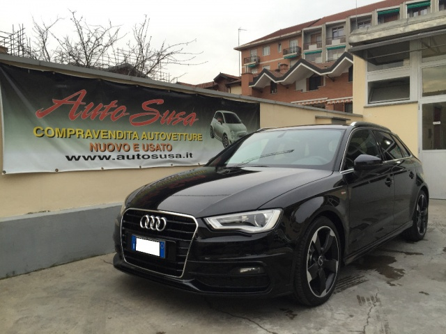 AUDI A3 SPB 2.0 TDI 150 CV clean Ambition SLINE EXT INT Immagine 0