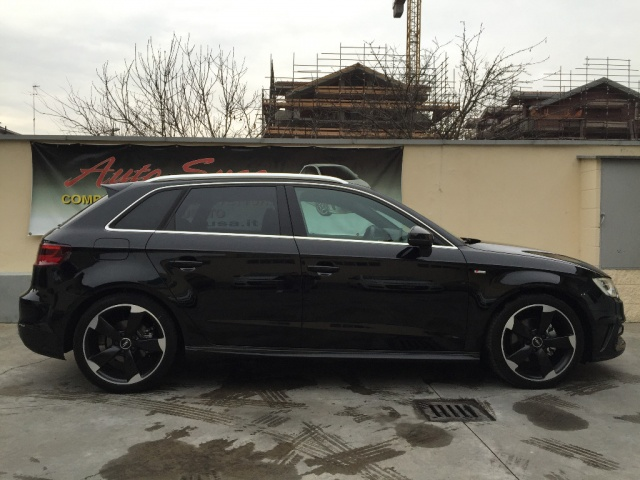 AUDI A3 SPB 2.0 TDI 150 CV clean Ambition SLINE EXT INT Immagine 3