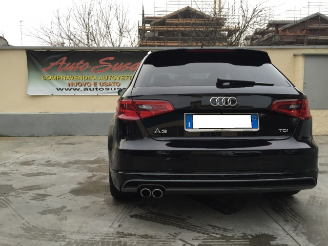 AUDI A3 SPB 2.0 TDI 150 CV clean Ambition SLINE EXT INT Immagine 4