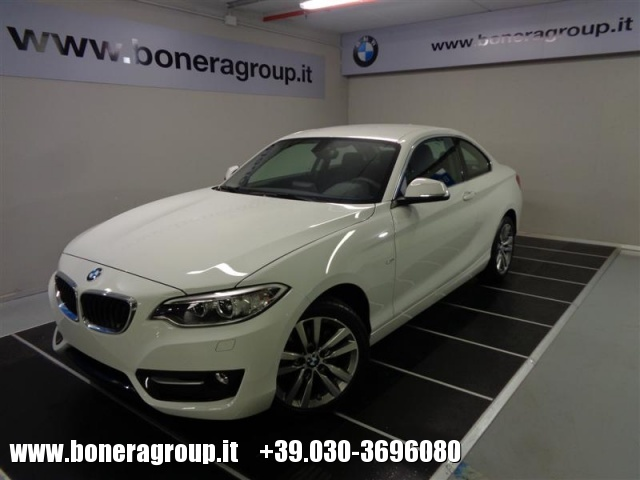 BMW 218 d Coupé Sport Immagine 0