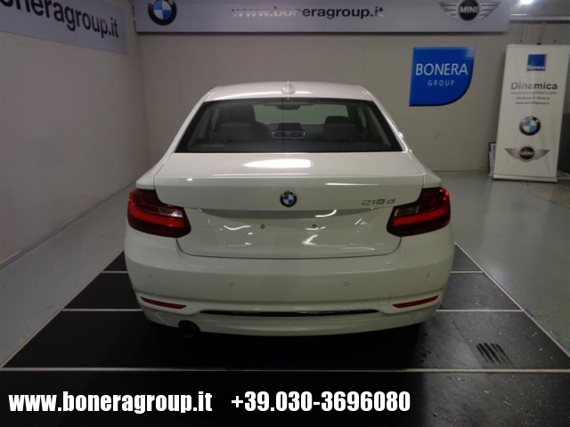 BMW 218 d Coupé Sport Immagine 4