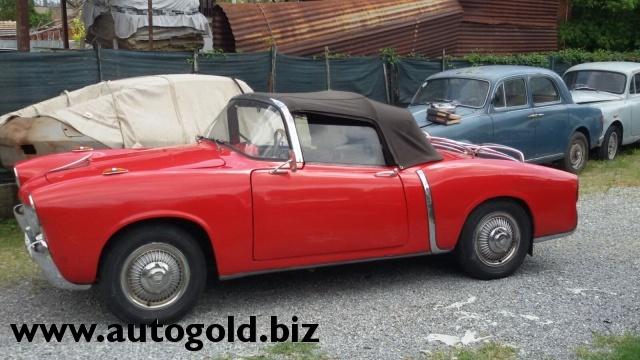 OLDTIMER Fiat 1100 TV cabrio (VALUTO PERMUTE ) Immagine 4