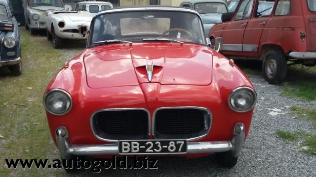 OLDTIMER Fiat 1100 TV cabrio (VALUTO PERMUTE ) Immagine 3