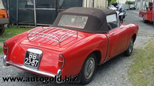 OLDTIMER Fiat 1100 TV cabrio (VALUTO PERMUTE ) Immagine 2