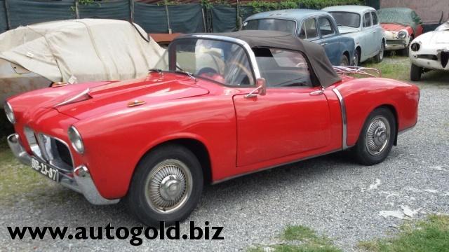 OLDTIMER Fiat 1100 TV cabrio (VALUTO PERMUTE ) Immagine 0