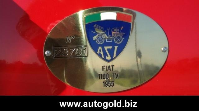 OLDTIMER Fiat 1100 TV (VALUTO PERMUTE ) Immagine 3