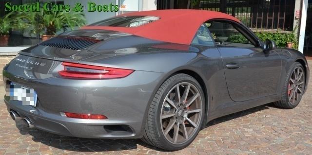 PORSCHE 911 3.0 Carrera S Cabriolet*SCARICO SPORTIVO*BOSE!! Immagine 1