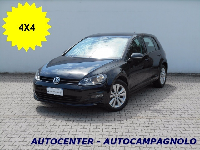 VOLKSWAGEN Golf 1.6 TDI 5p. 4MOTION Comfortline BlueMotion Technol Immagine 0