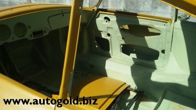 PORSCHE 356 solo scocca ,,,,,,,,only body,,,,rara tetto apribi Immagine 3
