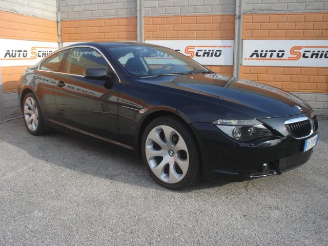 BMW 630 Black saphire pastello