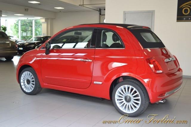 FIAT 500C 1.2 LOUNGE CABRIO PACK STYLE FULL NUOVA SCONTO37%! Immagine 3