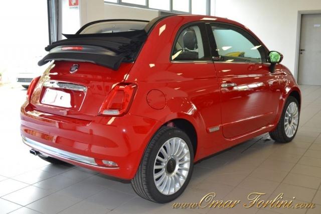 FIAT 500C 1.2 LOUNGE CABRIO PACK STYLE FULL NUOVA SCONTO37%! Immagine 2
