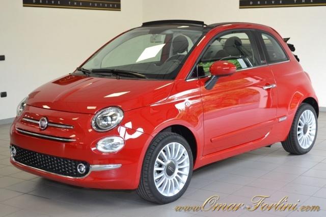 FIAT 500C 1.2 LOUNGE CABRIO PACK STYLE FULL NUOVA SCONTO37%! Immagine 0