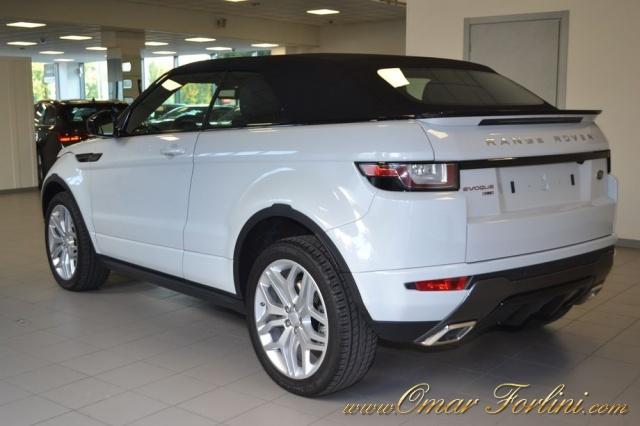 "LAND ROVER Range Rover Evoque NUOVA CONVERTIBLE 2.0 TD4 HSE DYNAMIC NAVI 20""FULL Immagine 3"
