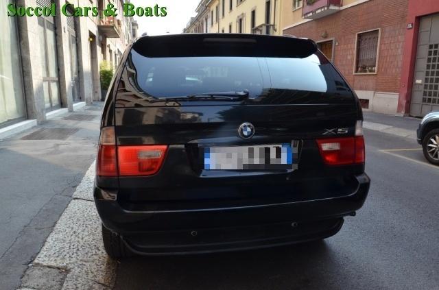 BMW X5 3.0d cat*NAVI*TETTO*GANCIO TRAINO*KM. CERTIFICATI! Immagine 3