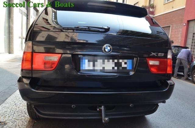 BMW X5 3.0d cat*NAVI*TETTO*GANCIO TRAINO*KM. CERTIFICATI! Immagine 4