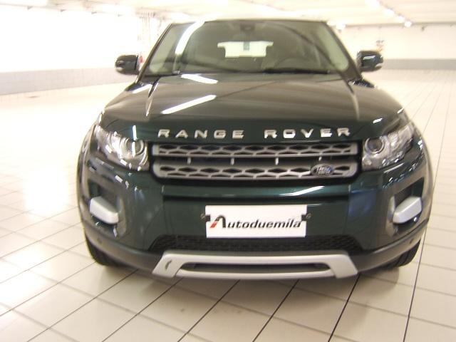 LAND ROVER Range Rover Evoque 2.2 TD4 5p. Pure GARANZIA TOTALE 12 MESI Immagine 2