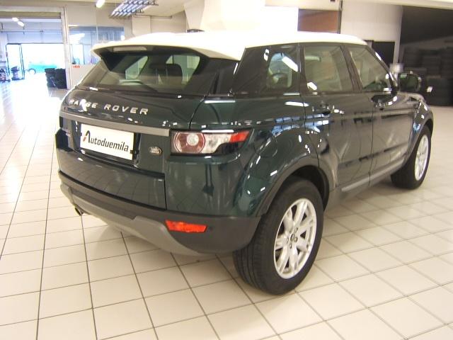 LAND ROVER Range Rover Evoque 2.2 TD4 5p. Pure GARANZIA TOTALE 12 MESI Immagine 4