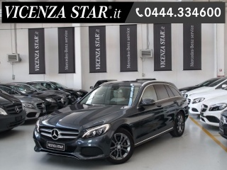 MERCEDES-BENZ C 220 D S.W. AUTOMATIC SPORT BUSINESS PACK Usata