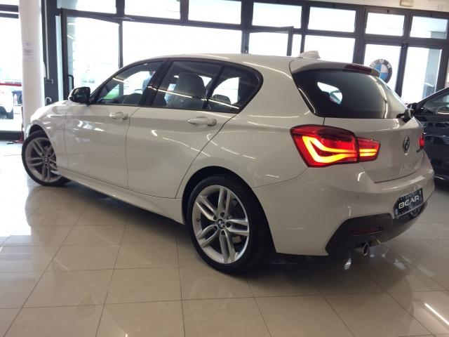 """BMW 118 dA 5p. Msport /Fari Led/Cam.Auto/Navi/ """"18 M Sport Immagine 4"""